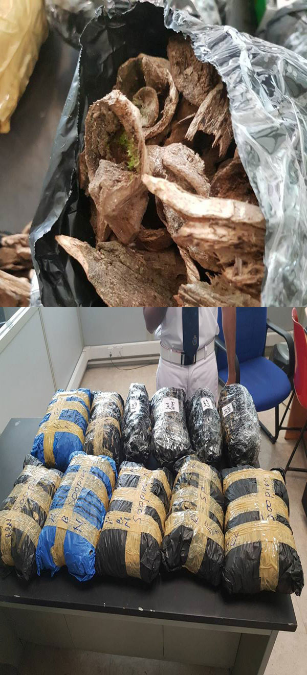Four arrested while attempting to smuggle a stock of Vallapatta