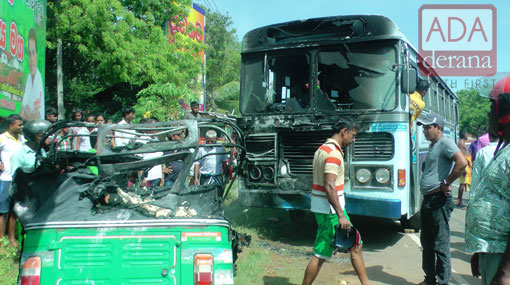 Four members of same family die in three wheeler-lorry collision