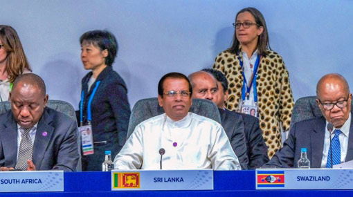 Sri Lanka's main concern is achieving a sustainable future – President