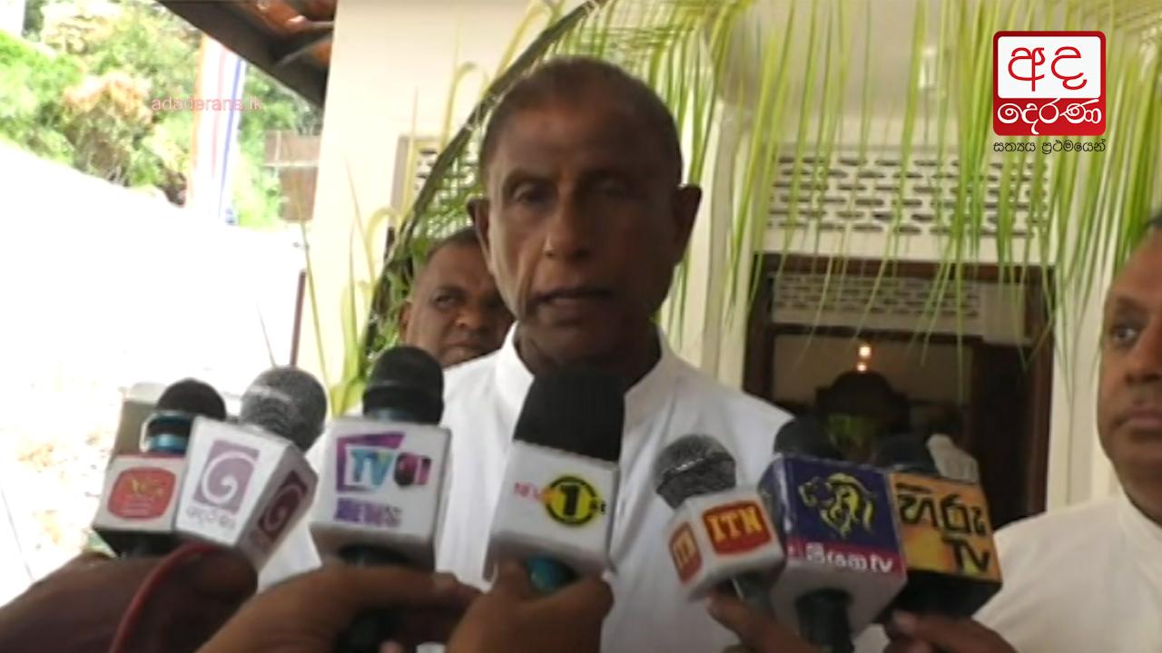 Removal of Basnayaka Nilame was not in vengeance - Gamini Jayawickrema Perera