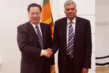 Sri Lanka hopes to accelerate Chinese projects, says PM
