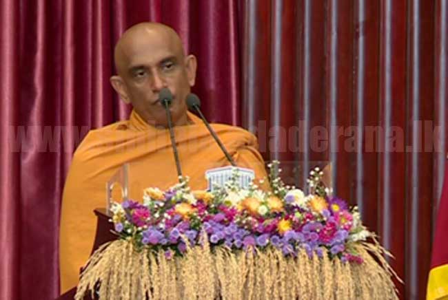 Now they are blaming fertiliser for election defeat - Rathana Thero