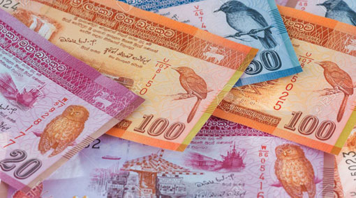 Sri Lanka rupee hits record low