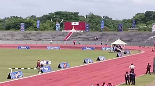 Amasha De Silva sets a new record in 100m women
