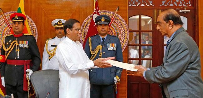Ariya B. Rekawa appointed Uva Province Governor