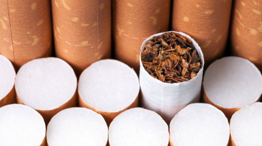 Woman arrested with 77 cigarette cartons at BIA