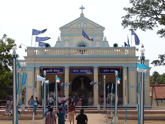 300 houses to be built around Madhu Church; wind power plant in Mannar Island