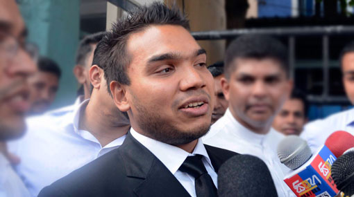 Now we are terrorists for the govt. – Namal Rajapaksa