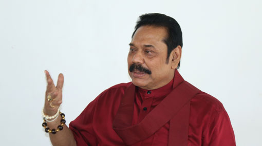 Mahinda responds to accusations fuel costs were higher during his govt