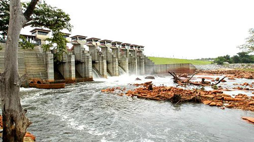 6 spill gates of Daduru Oya opened; public warned