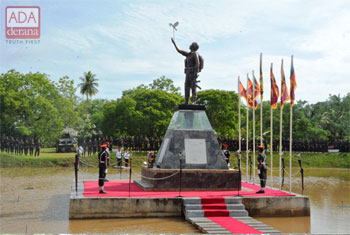Wanni security forces commemorate war heroes....