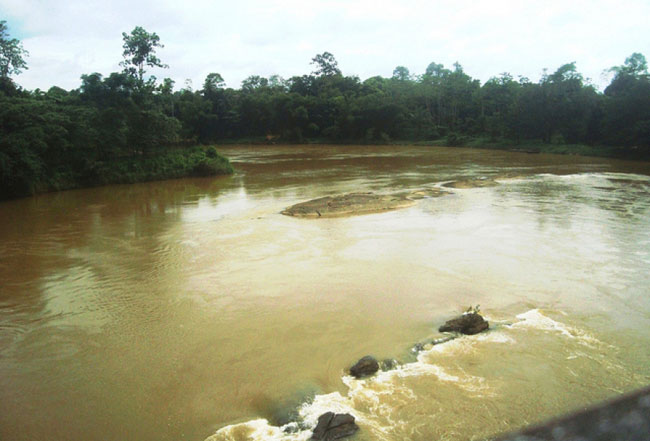 Kalu River reaching Major Flood level
