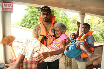 Helping the elderly...