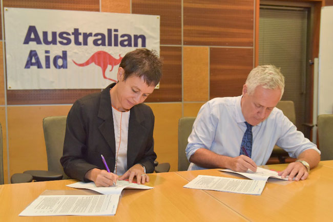 Australia, WFP and UNICEF launch partnership to help communities prepare for natural disasters in Sri Lanka