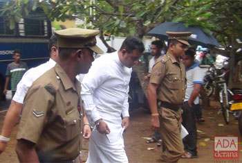Sanath Nishantha and brother remanded...