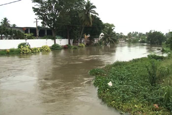 Flood in Ja-Ela...