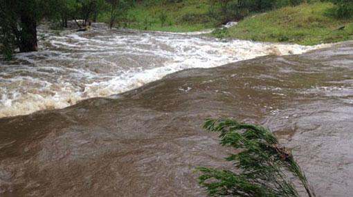 Attanagalu Oya and Maa Oya reach flood level -DMC