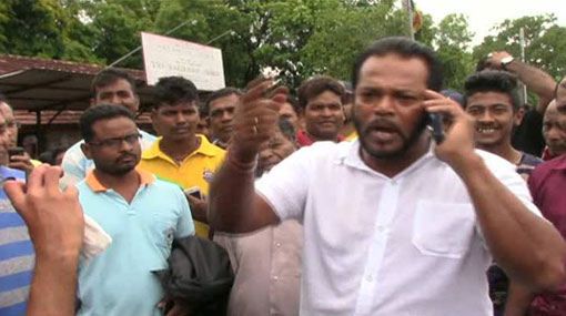 Disaster management rehearsal at Galewela Hospital halted by Palitha Thewarapperuma