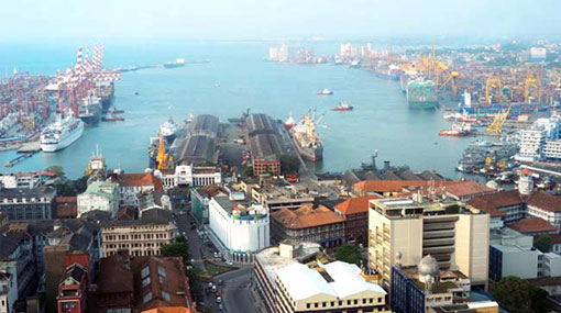 US lawmakers visit massive Chinese investments in Sri Lanka
