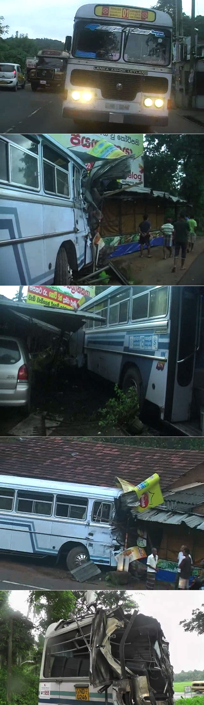 Two including a soldier dead after 2 buses collide