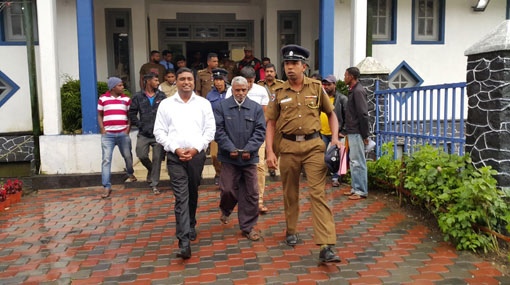 Talawakelle-Lindula UC chairman and 8 others further remanded