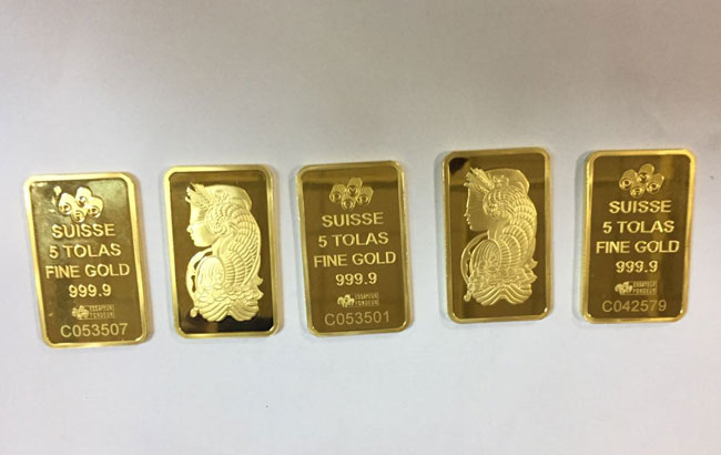 Sri Lankan passenger held with 5 gold biscuits at BIA