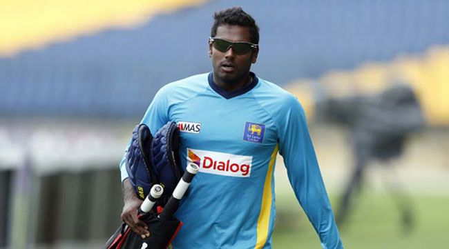 Angelo Mathews and Lahiru Gamage return from West Indies