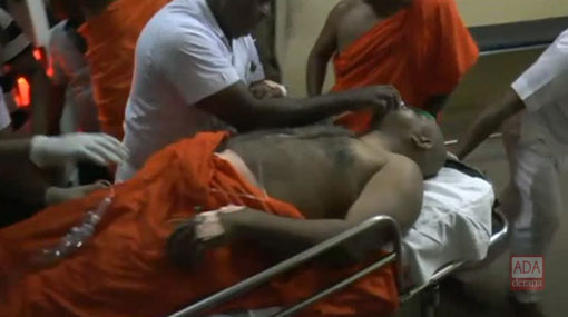 Kiriwehera Chief Prelate airlifted to Colombo