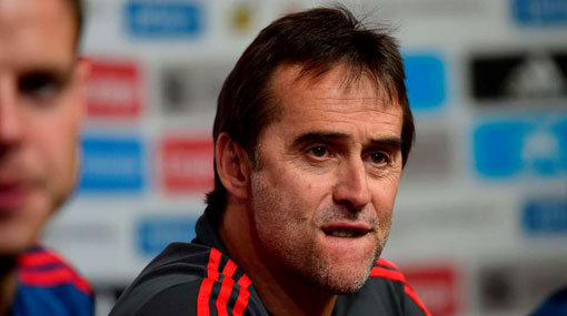Spain's Julen Lopetegui sacked as coach ahead of World Cup