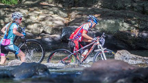 Foreign participant missing after falling into Mahaweli River during off-road bicycle race