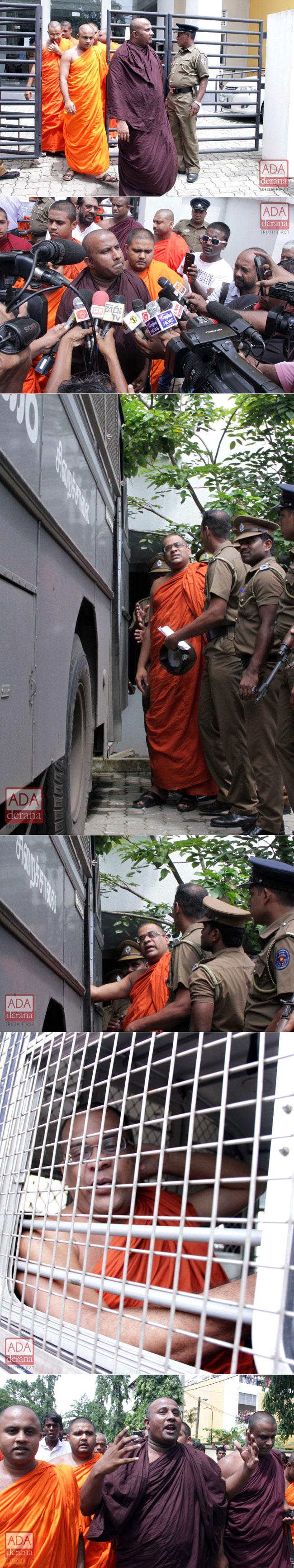 Gnanasara Thero sentenced to 6 months RI