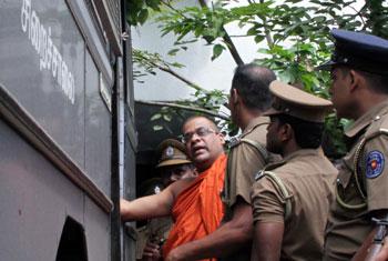 Gnanasara Thero gets 6 months' RI...