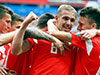 Russia wins opening World Cup match against Saudi Arabia