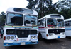 Panadura-Colombo and Negombo-Colombo private busses on strike