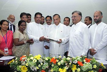 Parliament land deed handed over...