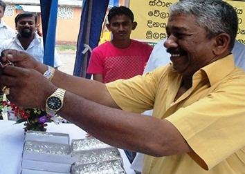 Mahinda Kahanda Gamage arrested