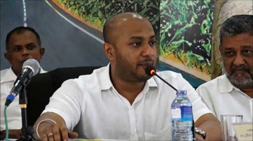 There's only a principled criticism against Mahinda's team – Duminda