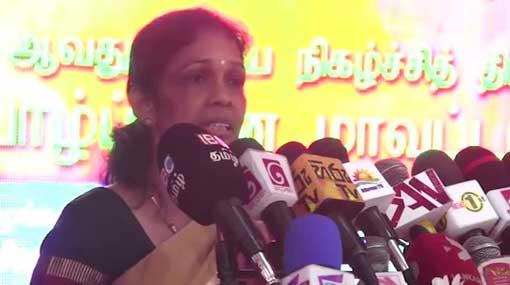 LTTE should resurrect for freedom of Tamil people – Vijayakala  Maheswaran