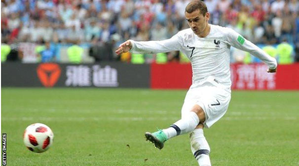 France beat Uruguay 2-0 to enter semi-finals