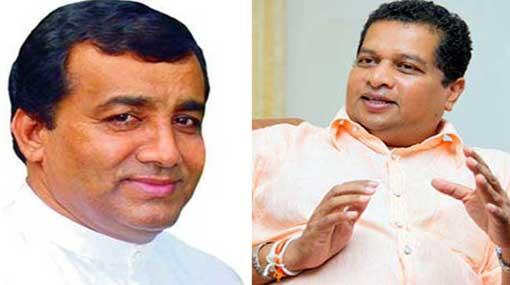 J. C. Alawathuwala and Lucky Jayawardena sworn in as State Minsters