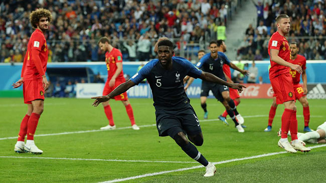 World Cup 2018: France beat Belgium to reach final