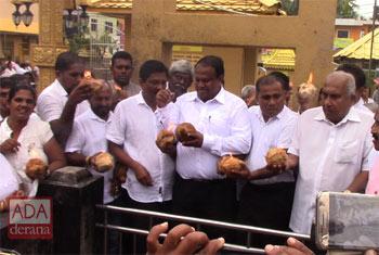 JO dash coconuts...