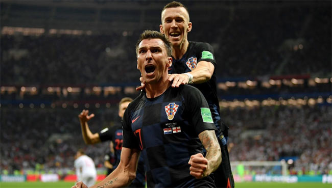 Croatia beat England in extra time to reach World Cup final