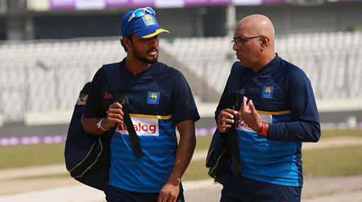 Chandimal, Hathurusingha out of South Africa Tests