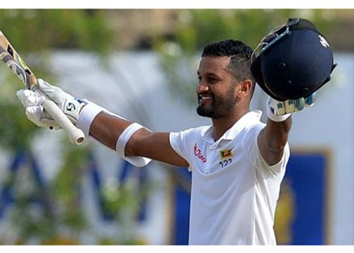 Karunaratne ton lifts Sri Lanka to 287 on tough day one