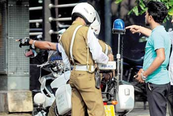New charge sheet for spot fines effective from today
