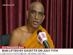 Cannot let the ban on Glyphosate be removed - Athuraliye Rathana Thero (English)