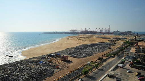 Sri Lanka to build world-class beach park