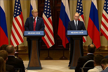 Trump says both the US and Russia are responsible for the breakdown in relationship