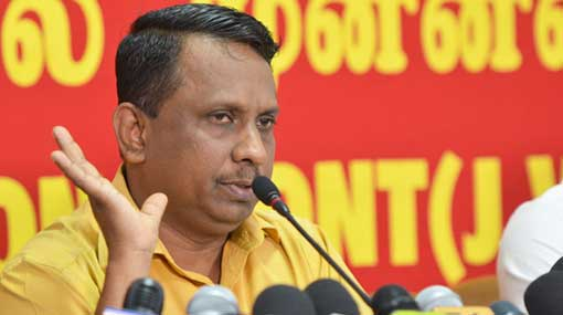 JVP protests increasing of fuel prices every two months